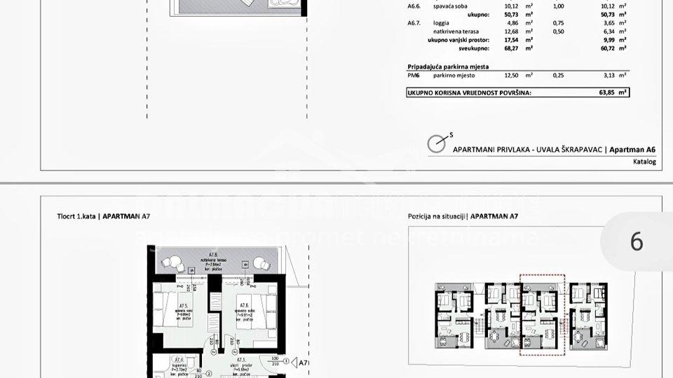 Appartamento, 61 m2, Vendita, Privlaka